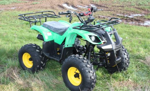 Hawkmoto Force 125cc Kids Quad Bike – John Deer Green