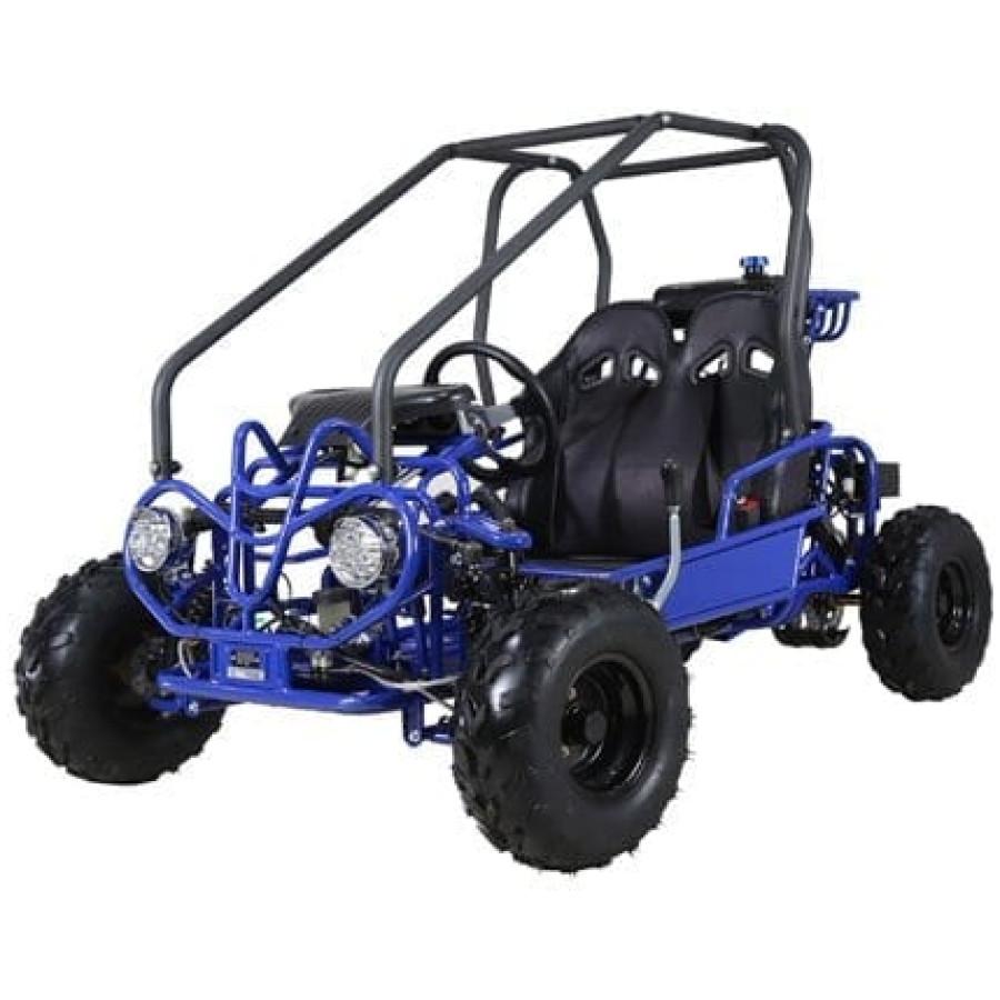 Hawkmoto Blizzard 125cc Dirt Buggy – Blue