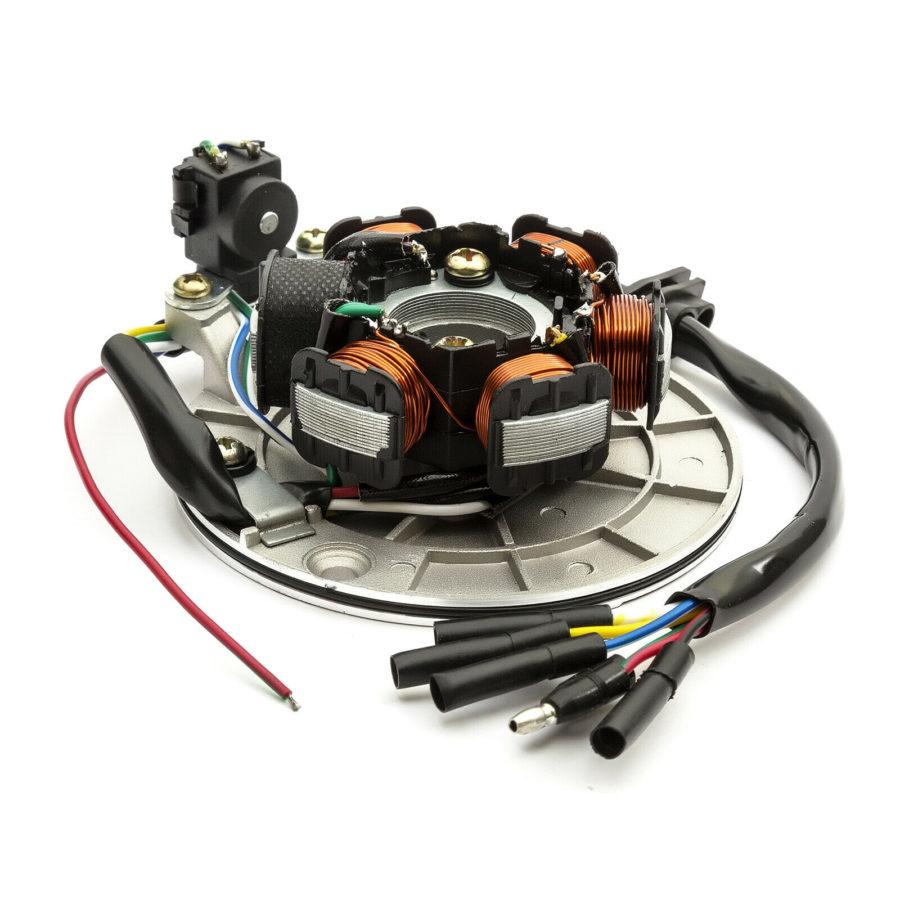 6 Pole Stator Plate Magneto Generator Coil 110cc 125cc 150cc Pit Dirt Bike Quad