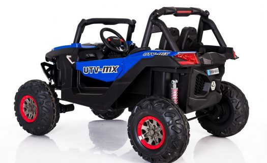 Kids Ride On 24v UTV-MX 4WD Off Road Buggy 4 Motors- Blue
