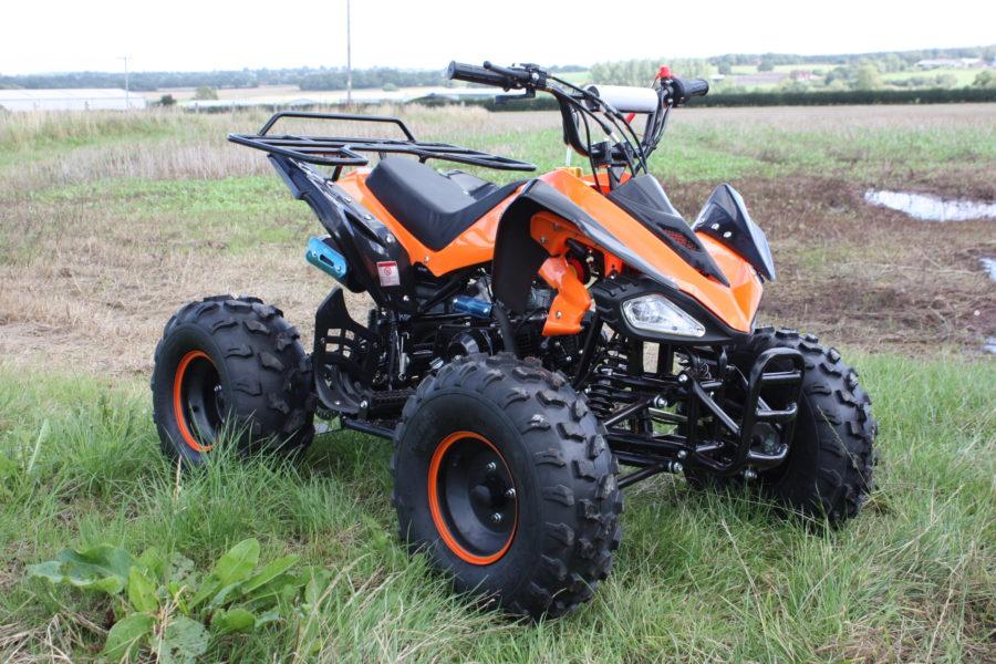 Interceptor Hawkmoto 125cc Quad For Kids Automatic – Orange