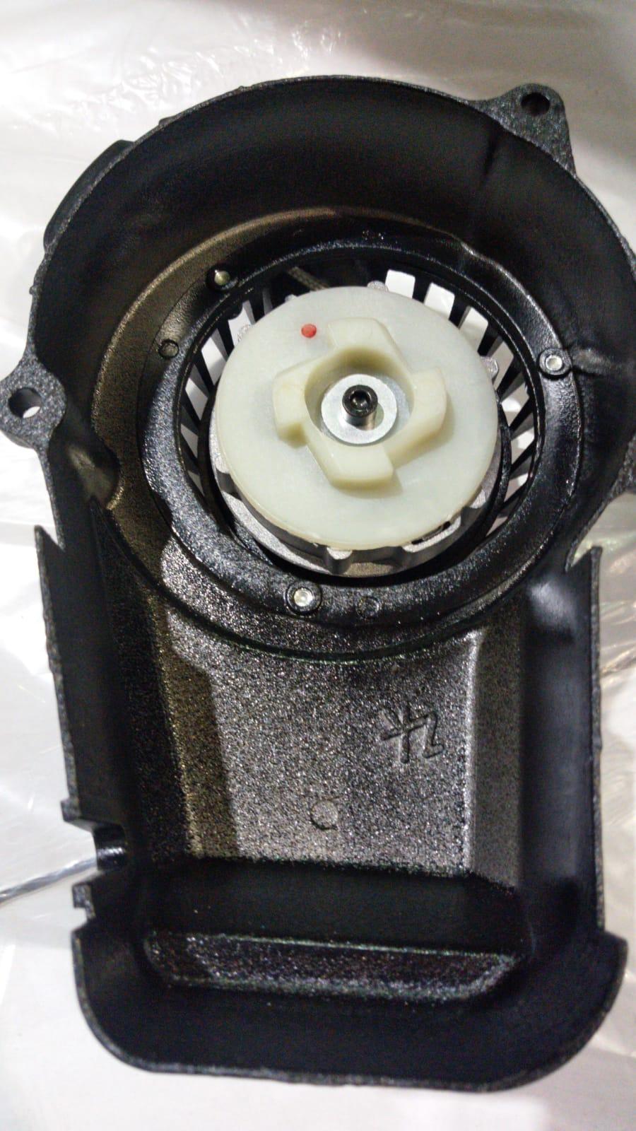 Mini Moto | Quad Spare Pull Start Complete Metal Black