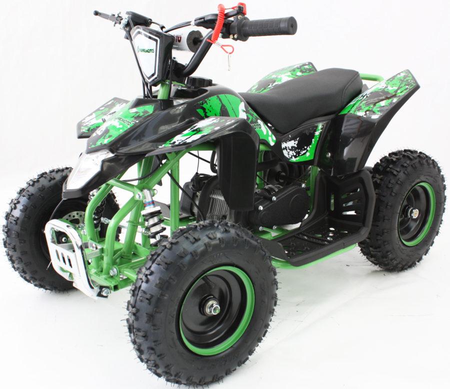 Hawkmoto Avenger 49cc Kids Quad Bike 2020 Edition – Wicked Green