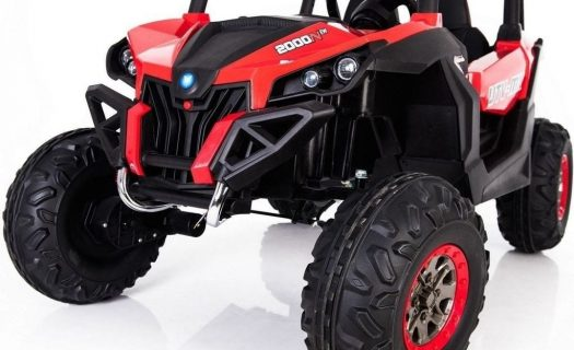 Kids Ride On 24v UTV-MX 4WD Off Road Buggy 4 Motors- Red