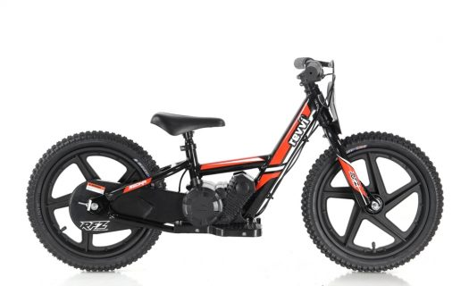 Revvi Lithium 16″ Kids Electric Dirt Bike – 24v Motorbike – Orange