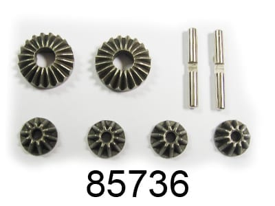 Diff Gears+pins 1set (85736)