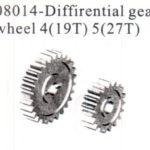 Rc Gears (19t), 3(27t) (08014)