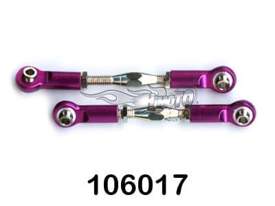 (06048) Purple Alum F|R Servo Link 2P (10617)