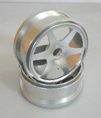 Upgrade Part-Silver Aluminum Wheel Rim (81612)