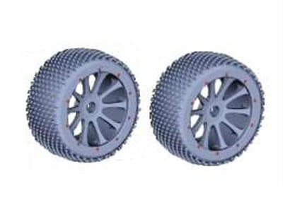 Rear Rim Andamp;amp; Tire Complete 2p  51003
