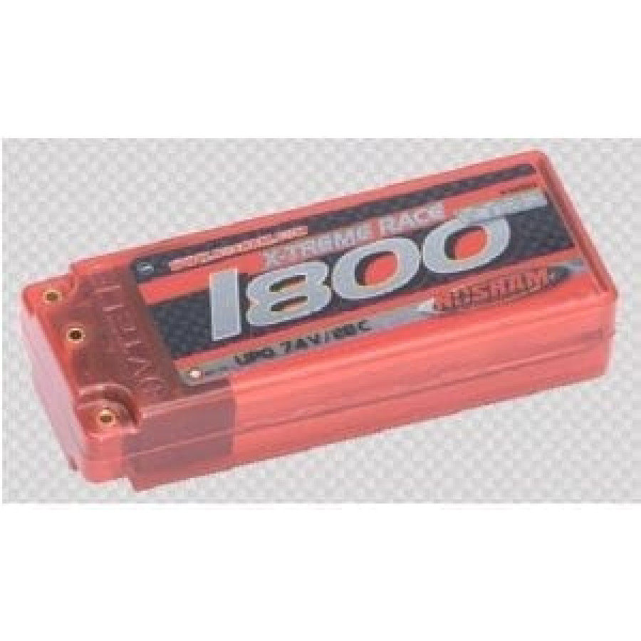 Noram Lipo 1800 X-treme Race 7.4v 28c – Hard Case