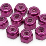 Ed130013 – M2 Purple Nut (10pcs)