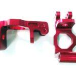 Himoto Aluminium Front Upright Andamp;amp; Bush (red) (78-p011tr)