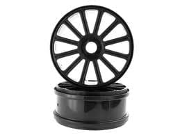 Himoto Black Rim For Buggy 2p (821001b)