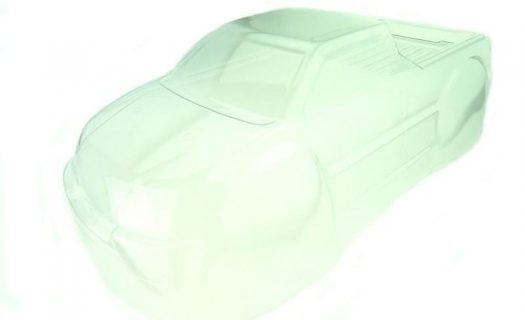 Himoto 1:10 Bowie Monster Truck Body Shell (Clear Unpainted) (31802)