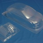 Himoto 1:10 On-road Clear Body Shell (focus) (pc201004r-2a)