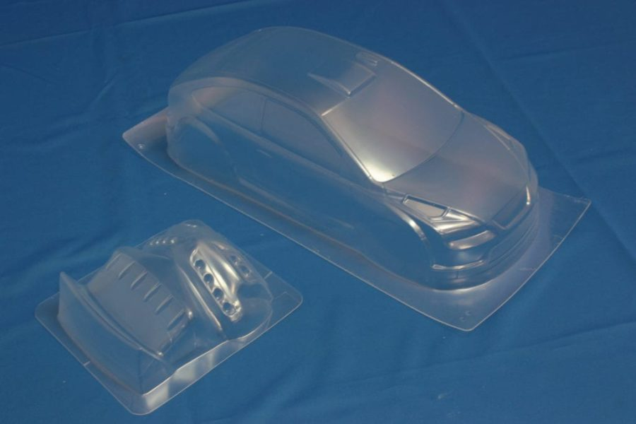 Himoto 1:10 On-road Clear Body Shell (focus Abu Dhabi) (pc201004r-4a)