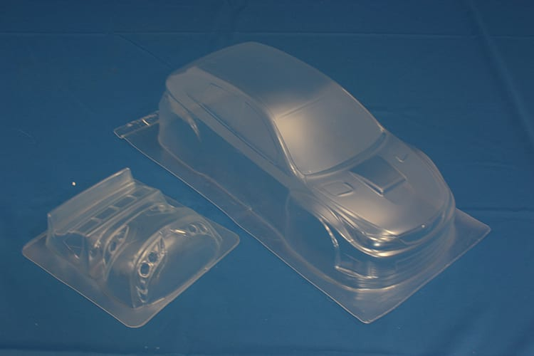 Himoto 1:10 On-road Clear Body Shell (subaru Wrx 10) (pc201006r-1a)