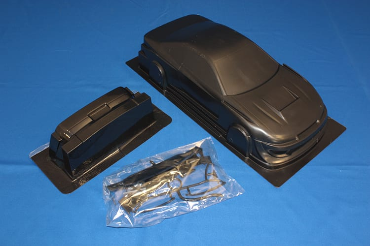 Himoto 1:10 On-road Body Shell (silvia S15 Carbon) (pc201204r-2a)