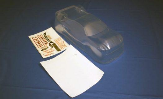 Himoto 1:8 Ziege Body Shell (Clear Unpainted) (E8Xt-Cl)