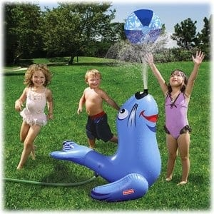 Inflatable Seal Garden Sprinkler