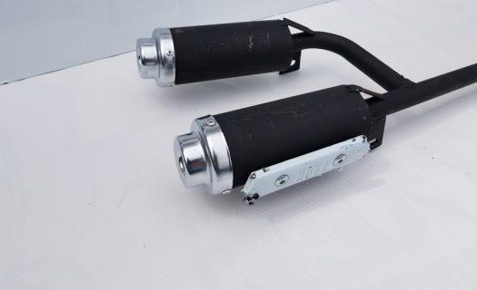 49Cc Mini Quad Bike Twin Exhausts