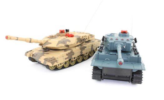 Fighting Infra Red Tanks