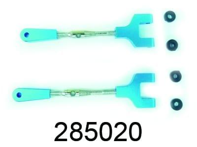 Aluminium Rear Upper Suspension Arms 2p (285020)85604-86611-286020
