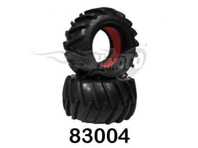 Monster Truck Tires 2P (83004)