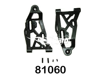 Front Lower Suspension Arms 2P  (81060)