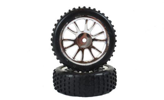 Front Chrome Tire &Amp; Rim Complete 2P (85007)