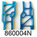 Aluminium Blue Rear Lower Suspension Arm (860004n)