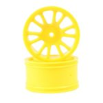 Yellow Savage Rear Rims 2p  (85022)
