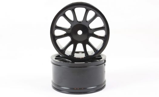 Black Savage Rear Rims 2P  (85022)