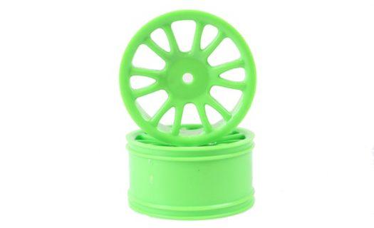 Green Savage Rear Rims 2P  (85022)