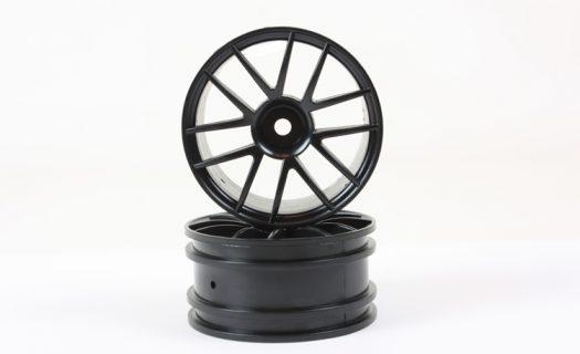 Black 12 Spoke Rims 2P  (02018)
