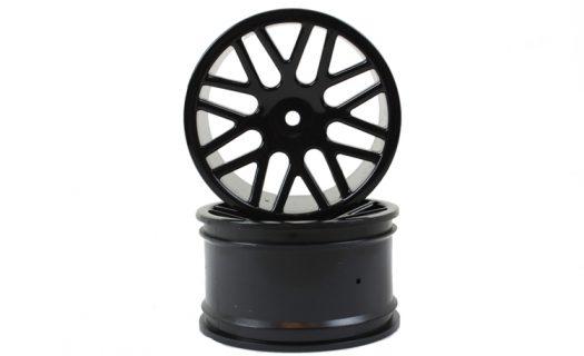 Black Mesh Rear Rims 2P  (06102)