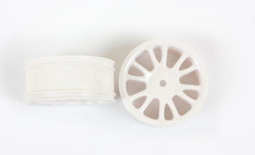 White Savage Front Rims 2P  (85005)