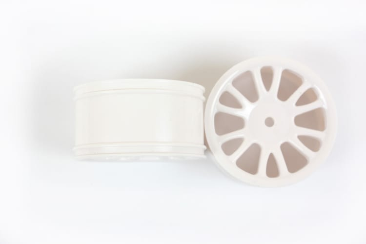 White Savage Rear Rims 2p  (85022)