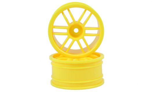 Yellow 12 Spoke Rims 2P  (02018)