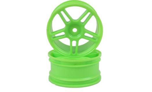 Green Super Star Spoke Rims 2P  (02228)