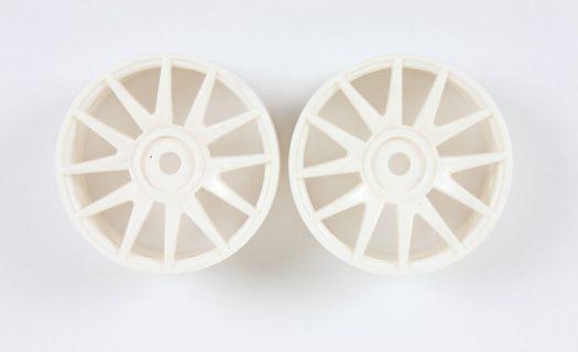 White 12 Spoke Rims 2P  (82827)