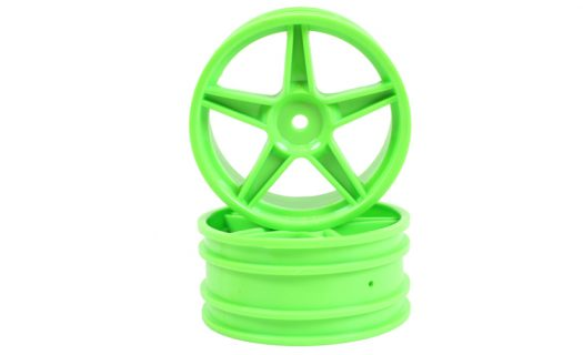 Green Super Star Front Rims 2P (06008)