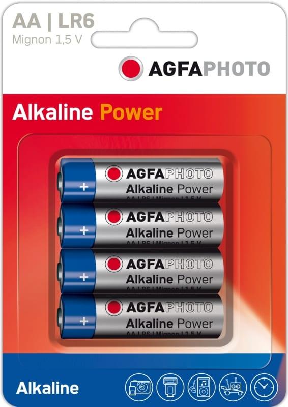 Agfaphoto Digital Alkaline Aa Battery 4 Pack