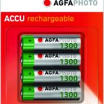 Agfaphoto Battery Rechargeable Aa1300 Batteries 4 Pack