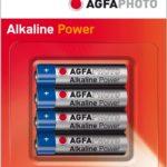 Agfaphoto Digital Alkaline Aaa Batteries 4 Pack