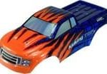 1:16 Scale Monster Truck Spare Body – Orange Andamp;amp; Blue (18607)