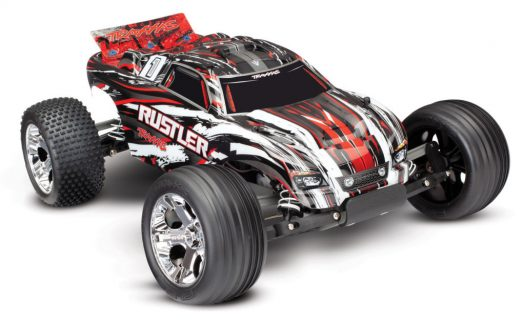 Rustler Xl-5 2Wd (Tq|No Battery Or Charger) – Red