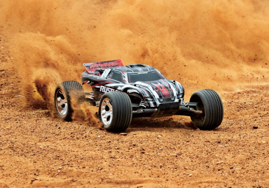 Rustler Xl-5 2wd (tq no Battery Or Charger) – Red