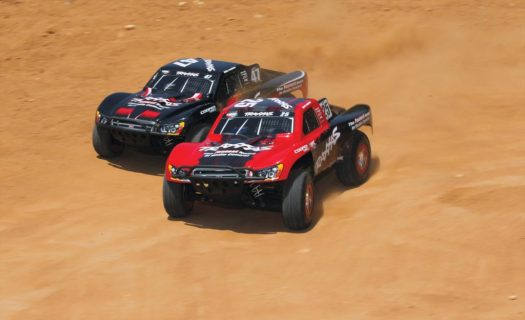 Slash Vxl Brushless 4Wd Tsm (Tqi|No Battery Or Charger) – Fox Edition